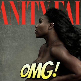 Serena Williams nago w Vanity Fair