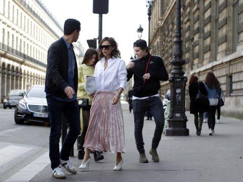 Brooklyn Beckham, Victoria Beckham i Sonia Ben Ammar