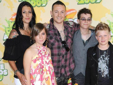 Chester Bennington z rodziną