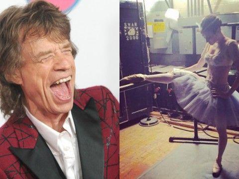 Mick Jagger i Melanie Hamrick, matka jego dziecka