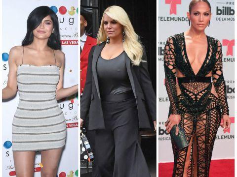 Kylie Jenner, Jessica Simpson, Jennifer Lopez