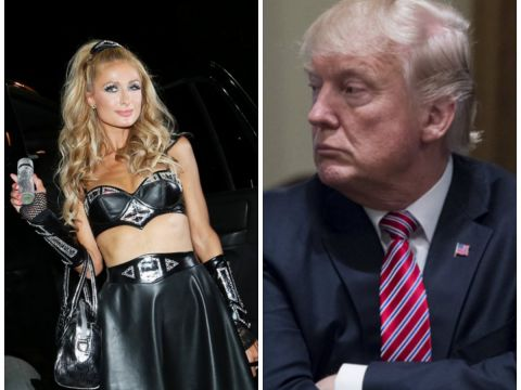 Paris Hilton, Donald Trump