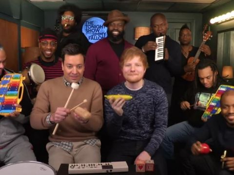 Ed Sheeran i Jimmy Fallon