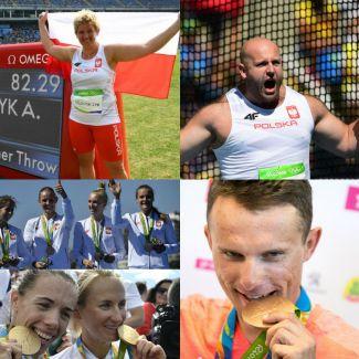 Rio 2016: polscy medaliści