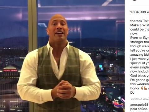 Dwayne The Rock Johnson Instagram