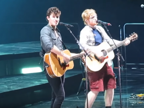 Shawn Mendes i Ed Sheeran