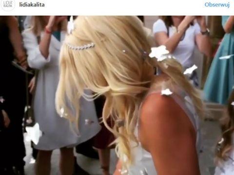 Maria Sadowska, ślub