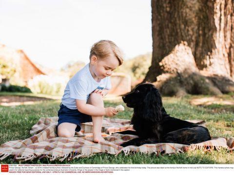 Książę George, 3. urodziny