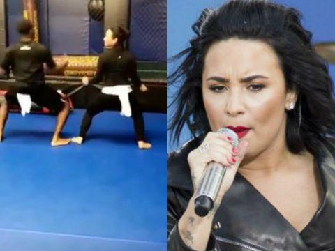 Demi Lovato twierkuje