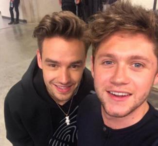 Niall Horan i Liam Payne w Indianie
