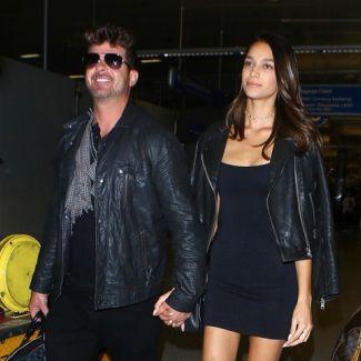 Robin Thicke i April Love Geary