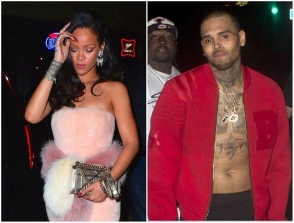 """Zdjęcie z artykułu: Rihanna i Chris Brown znowu romansują? """"Zawsze KOCHALI spotykać się w hotelach""""!"""