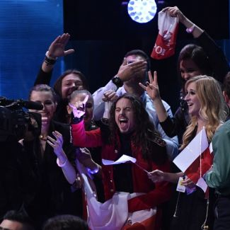Michał Szpak na Eurowizji 2016