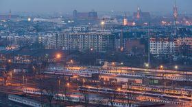 Morze pociągów we Wrocławiu [ZDJĘCIE]