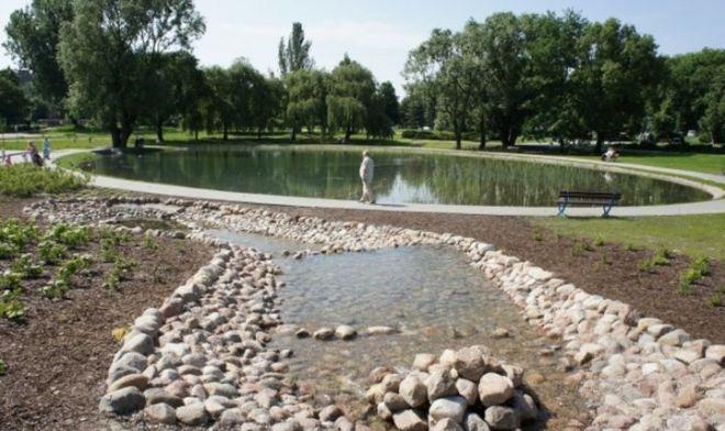 Zdjęcie z artykułu: Wola: W Parku Szymańskiego powstanie multimedialny kompleks fontann! [AUDIO]