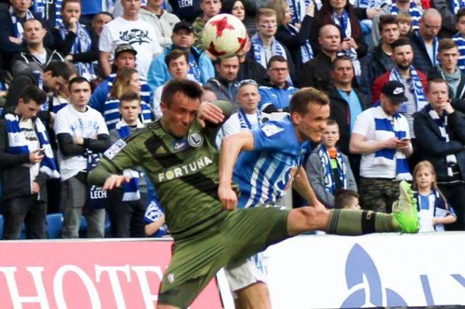 Zdjęcie z artykułu: Legia – Lech 2:0: Żenująco słaby Kolejorz gładko przegrał na Łazienkowskiej