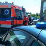 Podlaskie: 22-latek krwawił na stacji paliw