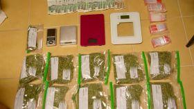 Białystok: Trzymali ponad pół kilograma marihuany w mieszkaniu