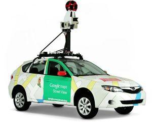 Samochody Google w Białymstoku