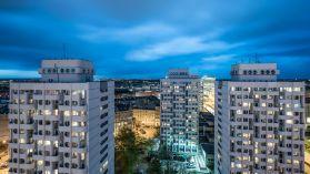 Wrocławska architektura nocą [ZDJĘCIE DNIA]