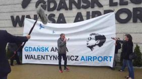 Świetny pomysł! Port Lotniczy Gdańsk im. Anny Walentynowicz? Jak to zniesie Lech Wałęsa?