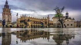 Deszczowy Kraków [ZDJĘCIE DNIA]