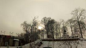 Zimą zachody słońca są najpiękniejsze [ZDJĘCIE DNIA]