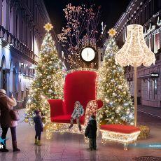 Łódź: Iluminacje świąteczne 2016 na Piotrkowskiej [WIZUALIZACJE]. ZOBACZ, jak będzie już niebawem!