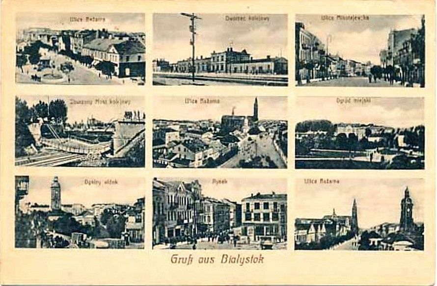 Białystok rok 1917