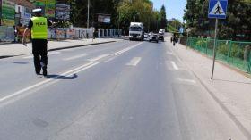 Tragedia w Jarosławiu: Nie żyje motorowerzysta