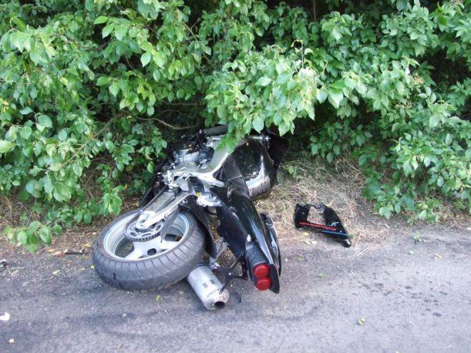 Zdjęcie z artykułu: Tragiczny wypadek w Dobrzyniewie Dużym. Zginął motocyklista
