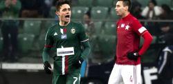 Śląsk - Wisła 1:0. Zwycięski gol Romana