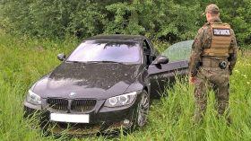 Kradzione BMW odzyskane po pościgu