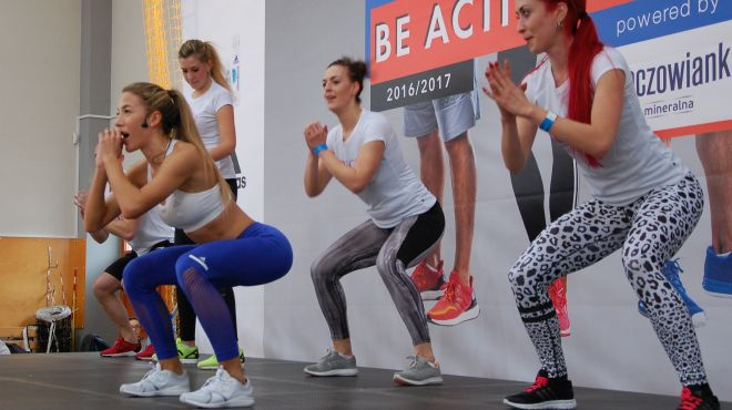 Ewa Chodakowska w Lublinie! Zobacz, jak wyglądały zajęcia ze sławną trenerką! [ZDJĘCIA]