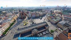 Wirtualny lot nad Krakowem dostępny w sieci!