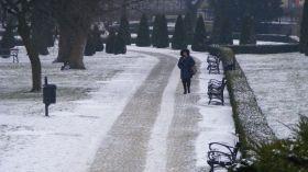 Mroźna pogoda wraca do Poznania
