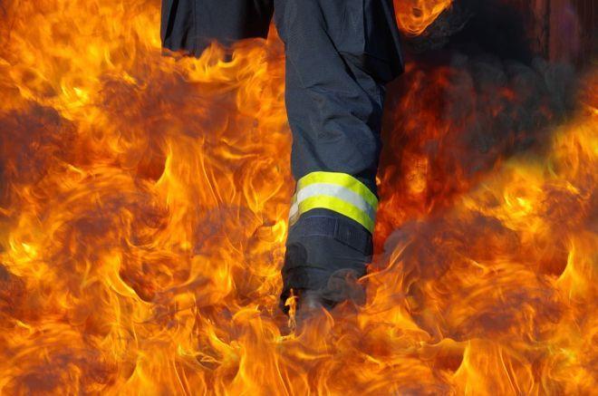 Zdjęcie z artykułu: W Zaściankach wybuchł pożar