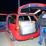 Pracowite dni strażników granicznych z Lubaczowej. Trafili na nielegalne papierosy i alkohol [ZDJĘCIA]