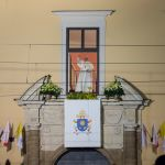 ŚDM: Papież Franciszek w oknie przy Franciszkańskiej
