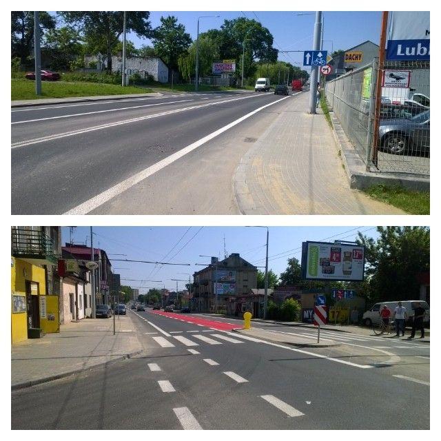 Zdjęcie z artykułu: Rowerowa rewolucja w Lublinie. Z kolorami na jezdniach będzie bezpieczniej [MAPA]