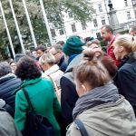 """Krakowscy restauratorzy protestują. """"Chcemy wina do obiadu!"""" [AUDIO, WIDEO]"""