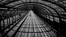 Szklany tunel [ZDJĘCIE DNIA]