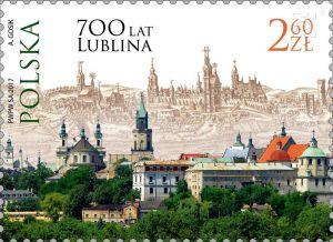 Lublin na znaczku