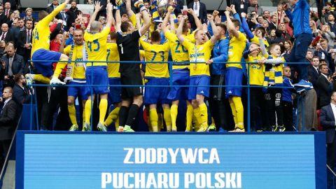Kary dla Lecha Poznań i Arki Gdynia za finał Pucharu Polski