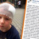 """""""Uciekłeś, zostawiając go zakrwawionego po same buty"""". Ojciec 5-latka szuka sprawcy wypadku. Pomagają mu tysiące internautów"""
