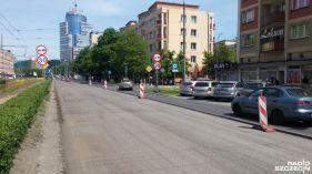 Spore utrudnienia w centrum Szczecina - Region - Radio Szczecin