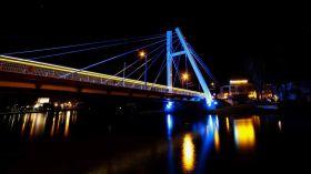 Most Jagiełły w nocnym kadrze [ZDJĘCIE DNIA]