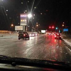 Katastrofa na drogach w Śląskiem: Szklanka, stłuczki, korki [ZDJĘCIA]