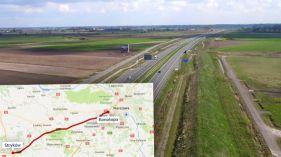 """Autostrada do Warszawy """"wyczerpuje swoje możliwości"""". Ma być poszerzona o trzeci pas"""