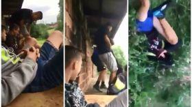 To nagranie pokazuje, jak okrutni potrafią być nastolatkowie [WIDEO 18+]. Sprawą zajęła się już policja
